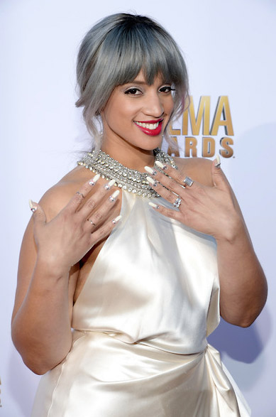 Dascha Polanco Wears Ring at Alma Awards