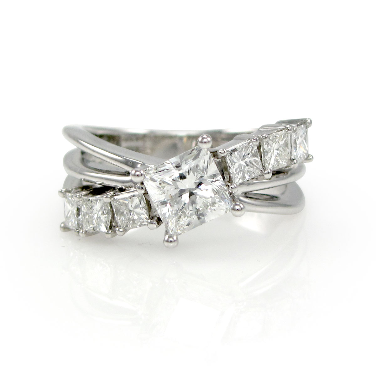 Fancy Split-Shank Ring