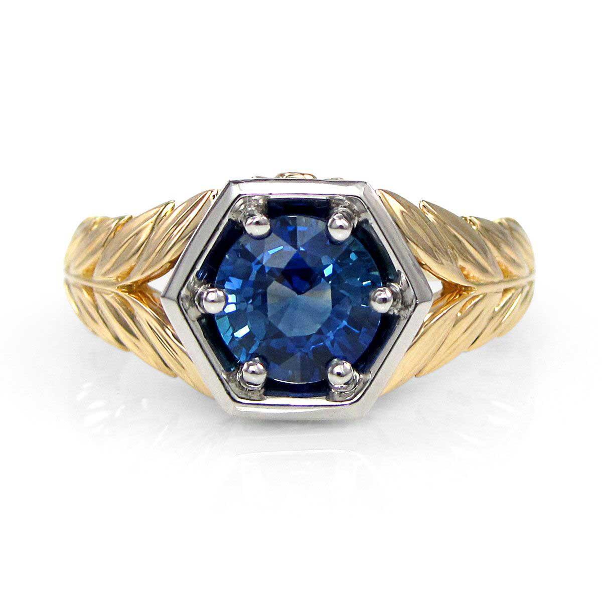 Vintage Sapphire Engagement Ring